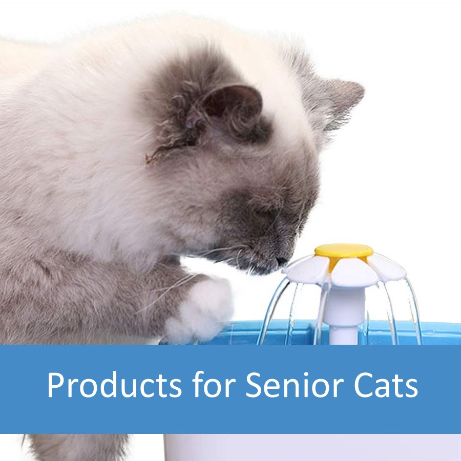 Pet Products for Elderly Cats 1